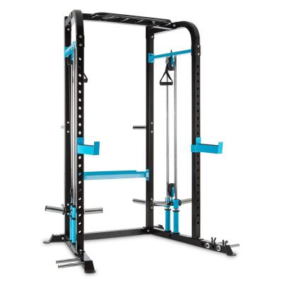 CAPITAL SPORTS Tremendi Rack máquina de poleas con barra de dominadas multiagarre