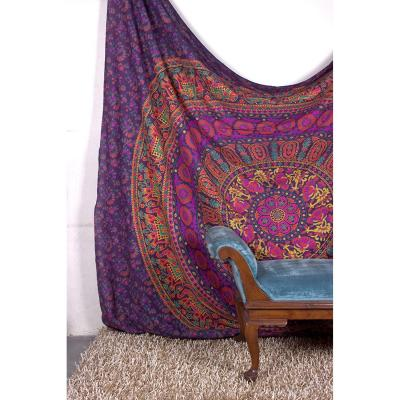 Tapestry Queen Flower Hippie tapestries Mandala Bohemian Psychedelic Intricate Indian Bedspread 92x82 Inches Aakriti Gallery Brand Name: Aakriti Gallery