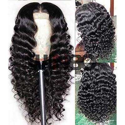 WINBO Human Hair Permanent Wavy Lace Front Wig Brazilian Virgin Remy Hair Full Lace Wigs Pre Plucked Natural Hairline With Baby Hair 150% Density For Women Wig